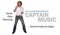 DJ Entertainment mit Stimmungsgarantie CAPTAIN MUSIC